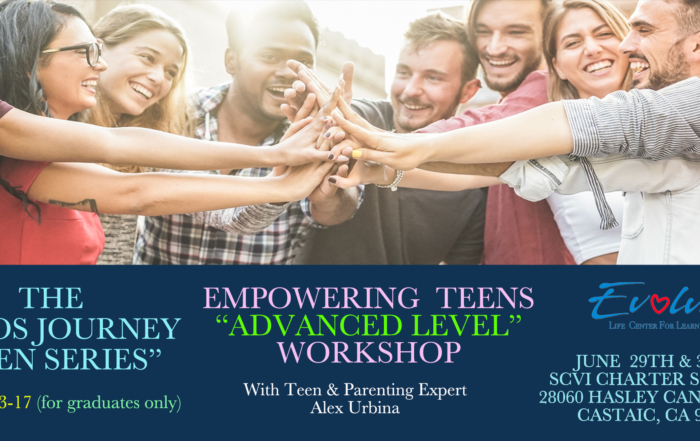 Advanced Level Empowering Teens Workshop